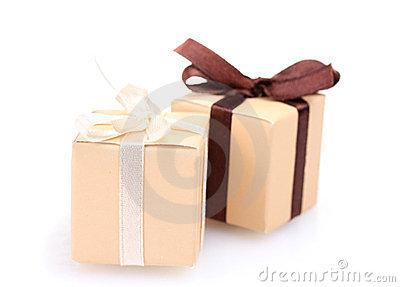 Beautiful gifts with bows