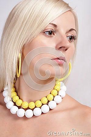 Beautiful girl in fashion 05
