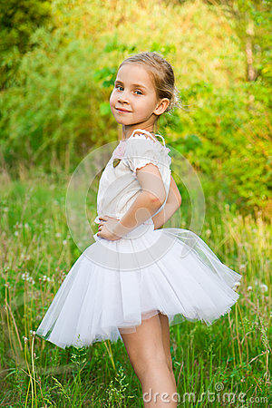 Beautiful Girl In The Forest Stock Photos - Image: 24880233