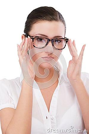 Free Beautiful Girl In Glasses Stock Photo - 15796250