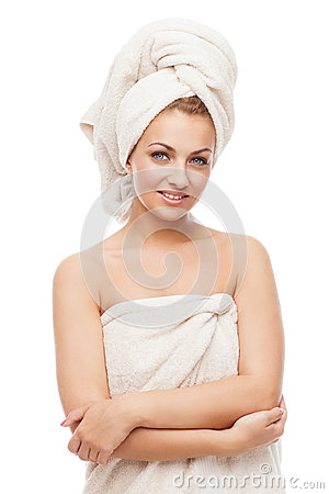 Free Beautiful Girl In Towel Stock Photos - 31497763