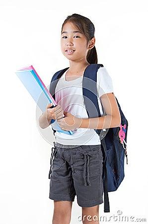 Beautiful Girl Student