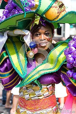 Free Beautiful Girl Summer Carnaval Stock Photo - 5877340