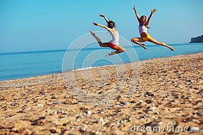Sports at beach