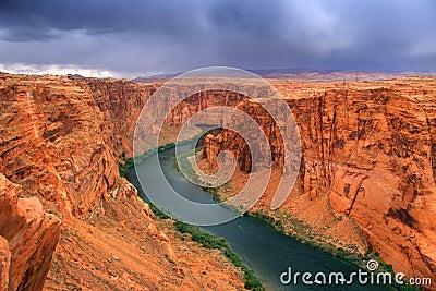 Beautiful glen canyon area
