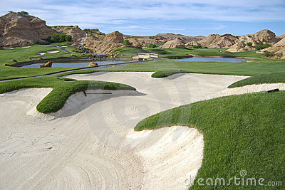 Beautiful Golf Course Stock Images - Image: 4417504