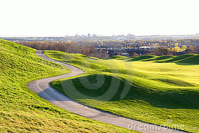 Beautiful Golf hill