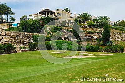 Beautiful golf villa