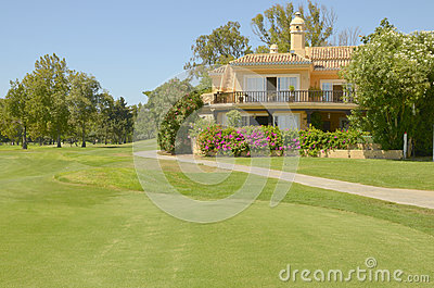 Beautiful golf villa