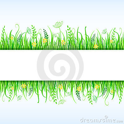 Beautiful Grass Frame