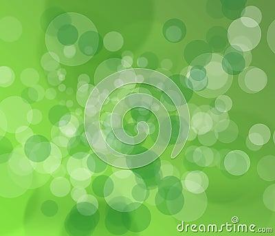 Beautiful green blur background