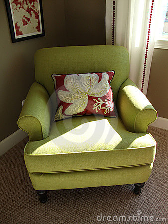 Beautiful Green Chair