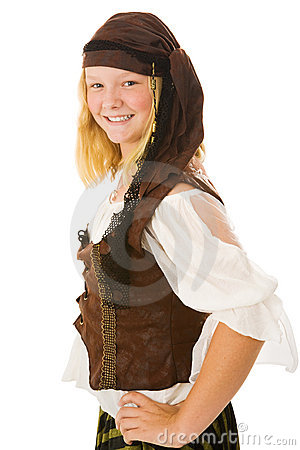 Beautiful Halloween Pirate