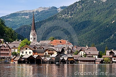 Beautiful Hallstatt in Austria