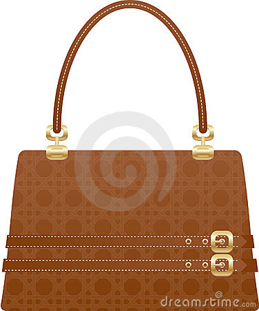 Beautiful handbag purse