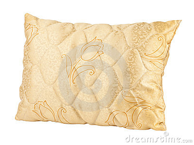 Beautiful handicraft pillow