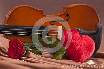 Beautiful hearts and violin!