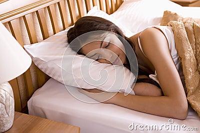 Beautiful in her sleep