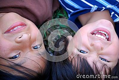 Beautiful Hispanic children