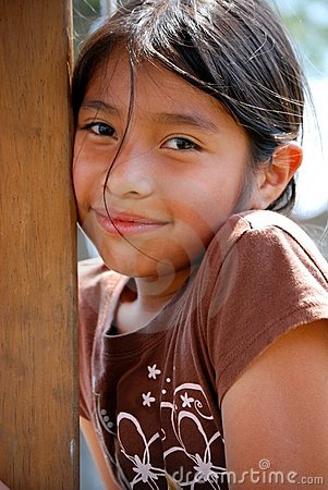Free Beautiful Hispanic Girl Royalty Free Stock Photography - 9012747