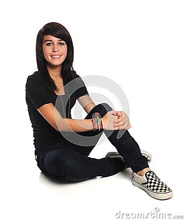 Beautiful Hispanic Teen