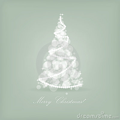 Beautiful holiday card retro style christmas t