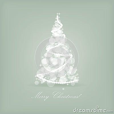Beautiful holiday card retro style christmas t
