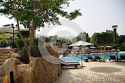 Beautiful Hotel On The Beach Jordan Stock Photo Image 57278920