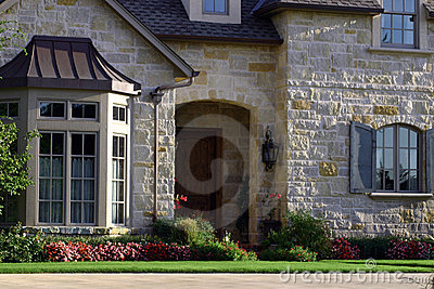 Beautiful House Stock Photos - Image: 211993