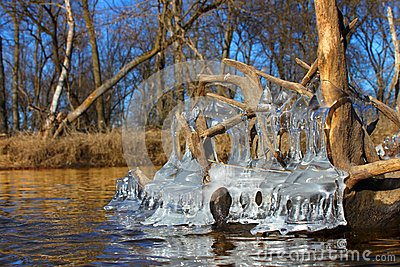 Beautiful Ice Formations Illinois