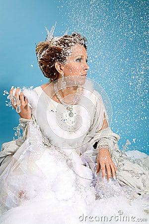Beautiful ice queen