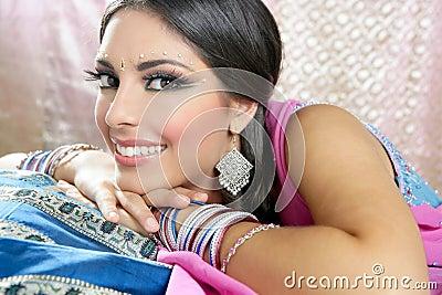 Beautiful indian traditional fashion style