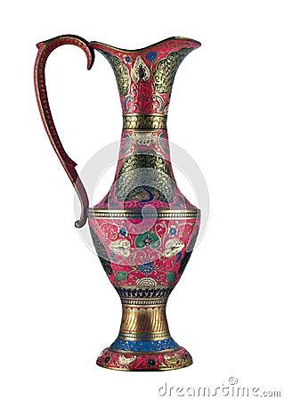 Free Beautiful Indian Vase Stock Image - 8788331