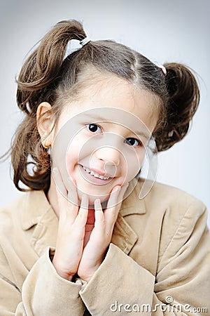 Beautiful inocent childhood