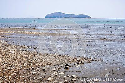 Beautiful island in Korea