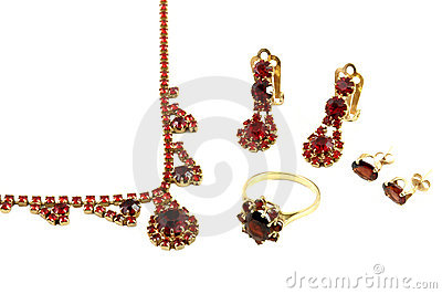 Beautiful jewellery set