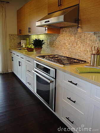 Beautiful Kitchen with Wood Floors