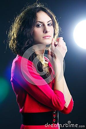 Free Beautiful Lady Stock Image - 18096991