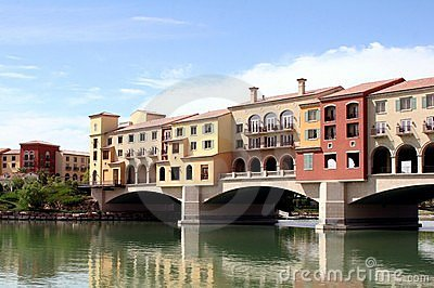 Beautiful Lake Las Vegas Editorial Stock Image