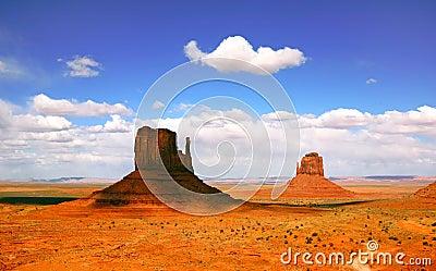 Beautiful Landscape of Monument Valley Arizona