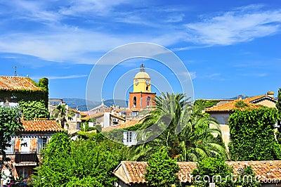 Beautiful landscape of Saint Tropez