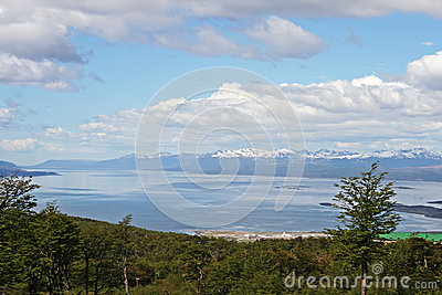 Beautiful landscape from Tierra del Fuego