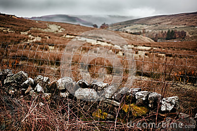 Landscape photo of the view in Garsdale