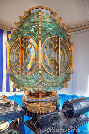 Beautiful lantern in the Sousse lighthouse