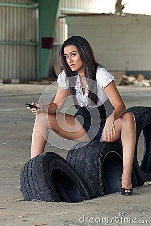 Beautiful Latina at an Abandoned Warehouse (7)