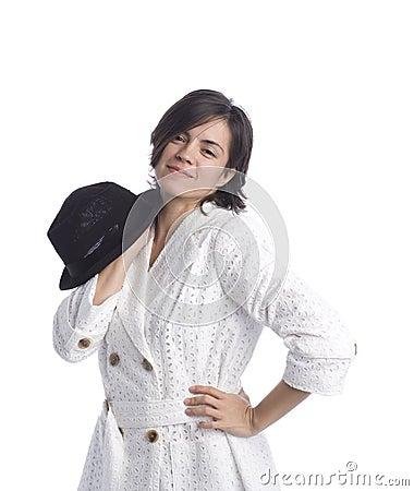 Beautiful Latina Model