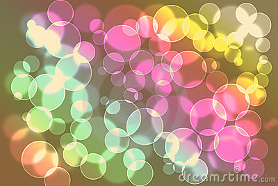 Beautiful light bokeh background