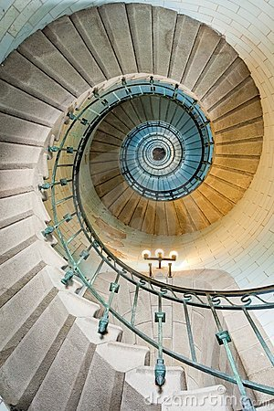 Free Beautiful Lighthouse Staircase Stock Photography - 10952212