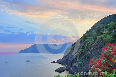 Beautiful Ligurian scenery