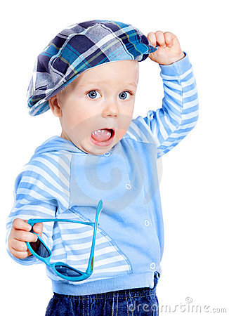 Beautiful Little Boy In A Cap Royalty Free Stock Photography - Image: 21699107